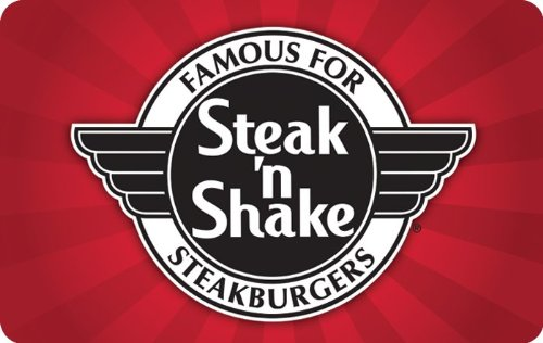 $25 Steak 'n Shake Gift Cards - E-mail Delivery