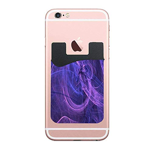 Swirl The Mists Popular 2 Pack Cell Phone Stick On Wallet Card Holder Phone Pockets for iPhone, Android and All -