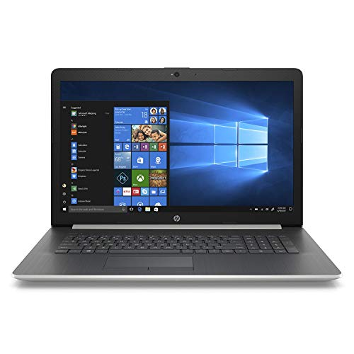 HP 2019 Premium Flagship Pavilion 17.3 inch HD+ Laptop, Quad-Core i5-8250U (>i7-7500U), 8GB/12GB/16GB RAM, 128GB to 1TB SSD, 1TB/2TB HHD, HDMI, DVDRW, Backlit Keyboard, Bluetooth, Windows 10, Silver