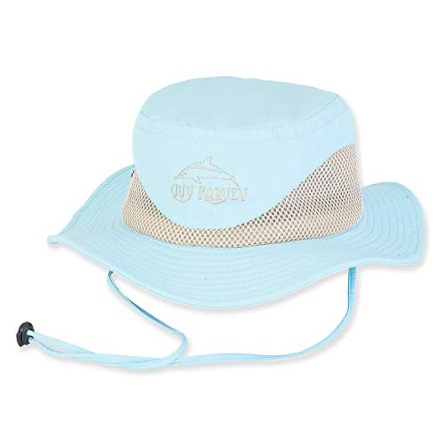 - Guy Harvey Women's Breathable Nylon Hat w/Embroidered Logo Blue