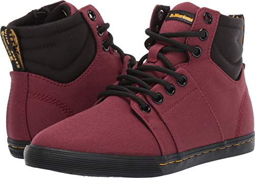 Dr. Martens Kid's Collection Unisex Rozarya (Little Kid/Big Kid) Cherry Red T Canvas 11 M UK -