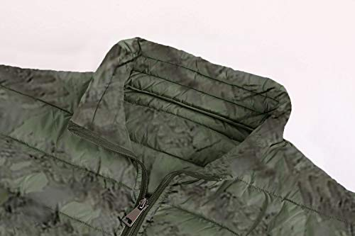 Amazon.com: PASLTER - Chaquetas de plumón acolchadas para ...