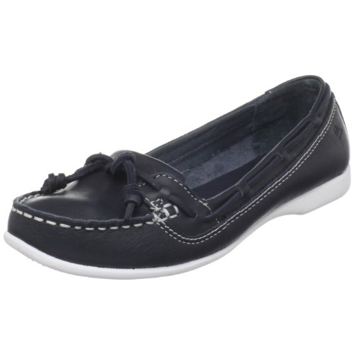 Sebago Womens Felucca Lace Loafer Denim Blue