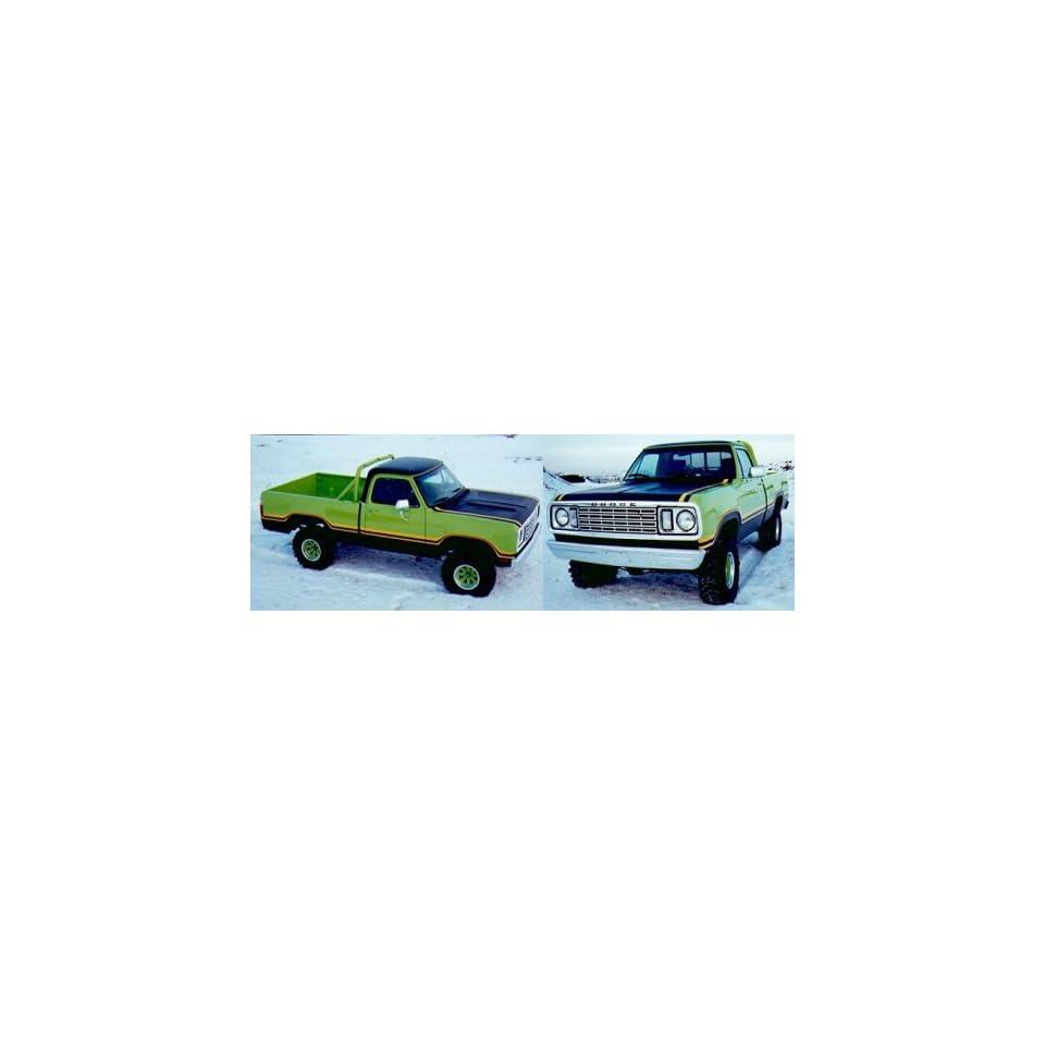 1977 78 Dodge Macho Power Wagon   ORANGE/BLACK Automotive