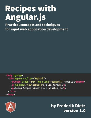 Recipes with Angular.js (Best Server Side Javascript Framework)