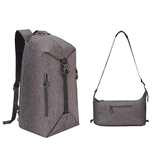 TUOBETRAVELING Sports Backpack for Men Women, 30L Business Laptop Packable Backpack Outdoor Camping Travel Backpack, School Shoulder Bag for Girls Boys Teens