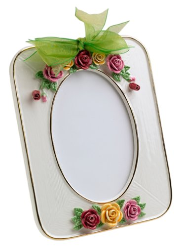 Amazon.com: Royal Albert Old Country Roses 4-by-6-Inch Photo Frame ...