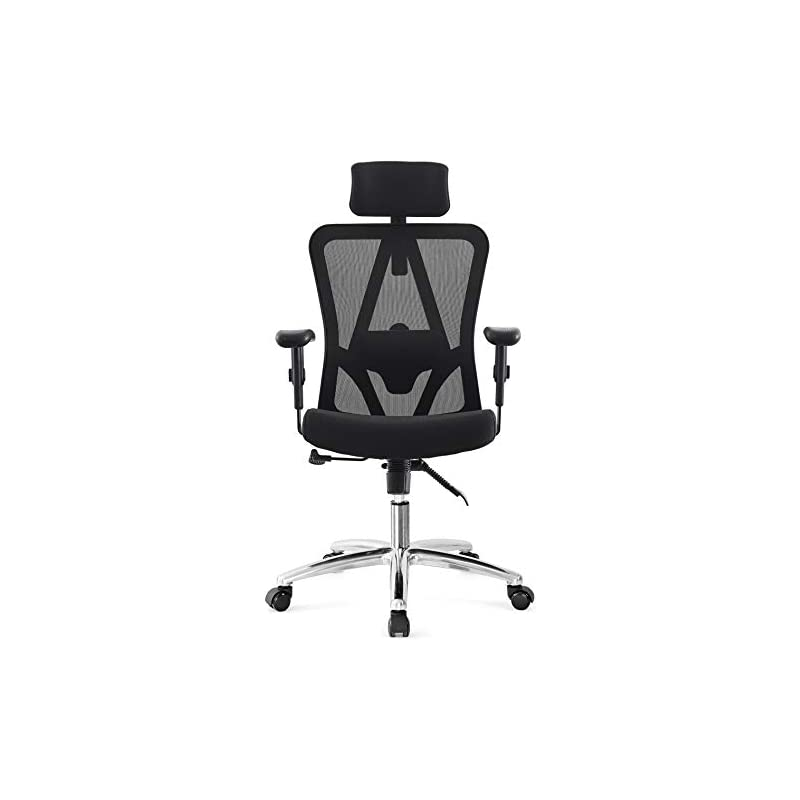 Ticova Ergonomic Office Chair with Adjus