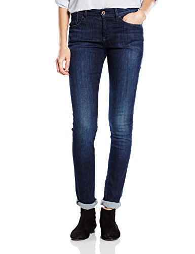 989 Naomi Mid Jeans Donna Stretch Slim Rise Hilfiger Nero Denim dark t1wvqf