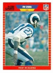 Amazon.com: Irv Cross football card (Los Angeles Rams CBS