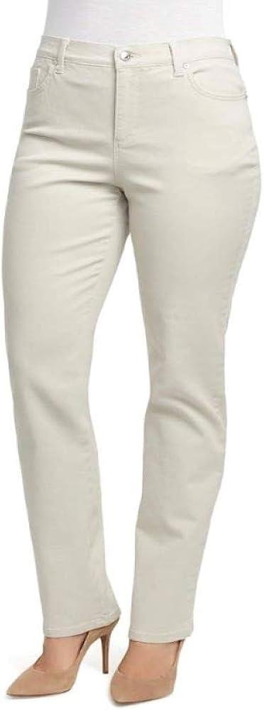 Gloria Vanderbilt Amanda Classic Rise Tapered Leg Jeans ,  Beige ,  Size 4