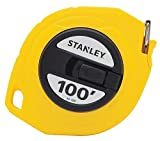 6 Pack Stanley 34-106 100' x 3/8'' Steel Long Tape Measure