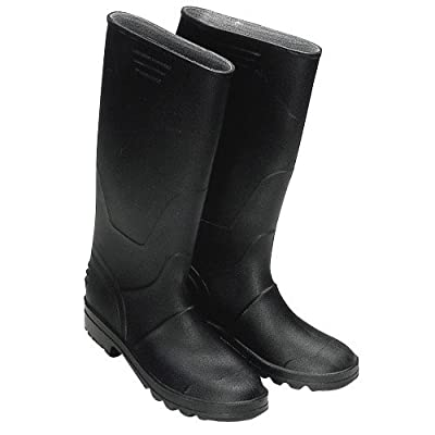 15010010 Wolfpack High Welly Boots Size 39-noir: Home Improvement