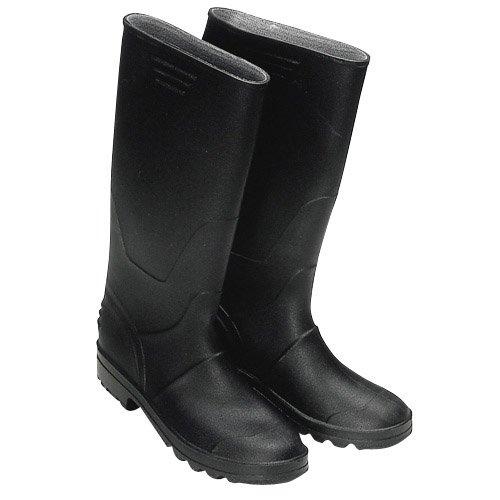 Wolfpack 15010105 - Botas de goma altas, talla 45, color negro
