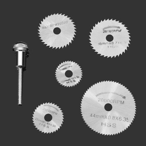 aimente 6pc Mini m/édias M/èche Scie circulaire pour m/étal /& Dremel revolvierenden Instruments