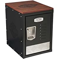 Harley-Davidson Bar & Shield Metal Storage Unit, Durable Laminate Top HDL-19706