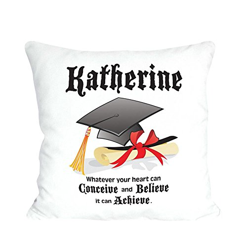 GiftsForYouNow Personalized Graduation Throw Pillow, 14