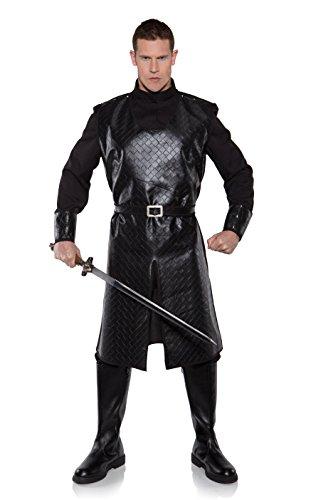 Plus Size Noble Renaissance Man Costumes (Underwraps Men's Plus-Size King Of Arms, Black, XX-Large)