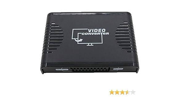 Yuanj Conversor de HDMI a euroconector, HDMI a Scart ADPT Conversor: Amazon.es: Electrónica