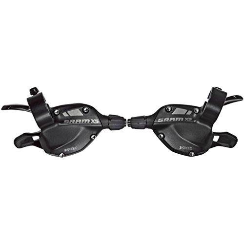 9 Speed Trigger Shifter - SRAM X5 2012 Trigger Shifter Set - 3 x 9-Speed, Black