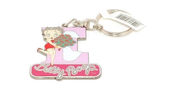 Llavero Betty Boop, diseño de letra E.: Amazon.es: Hogar