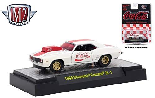 M2 Machines 1969 Chevrolet Camaro ZL-1 Coca-Cola Release RC01 - 2018 Castline Hobby Edition 1:64 Scale Die-Cast Vehicle Set (RC01 18-16) ()