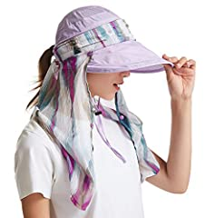 ICOLOR: Color your life! Don't leave your home without packing this lightweight, portable ICOLOR Flap Hats ,Sun Cap in your bag. It easily folds up to fit in the smallest places-even your back pocket!there's no better sun hat to get you throu...
