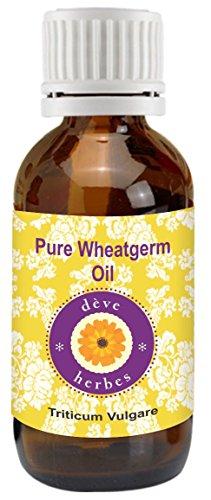 Pure Wheatgerm Oil 50ml (Triticum Vulgare) 100% Natural