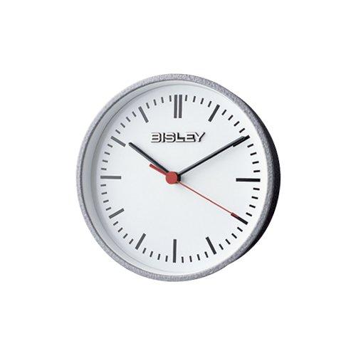 BISLEY クロック シルバー B0025X0RHGSilver