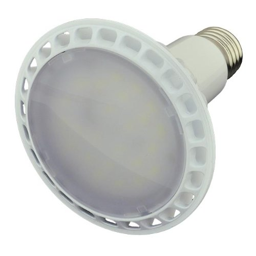 LEDwholesalers Dimmable PAR30 LED Wide Angle Flood Light Standard Screw Base, 14-Watt, Warm White, 1344WW