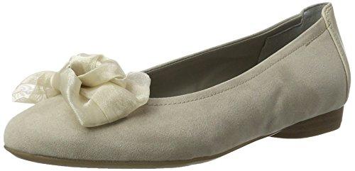 Beige lino Flats Ballet Jenny Cotone Pisa Women's vnqZXvxg1w