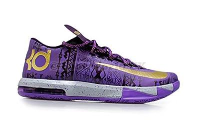 Nike Kd Vi Black History Month 646742-500 Mens Basketball Shoe (11)