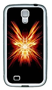 Samsung Galaxy S4 I9500 Cases & Covers - Red Abstract N001 Custom TPU Soft Case Cover Protector for Samsung Galaxy S4 I9500 - White