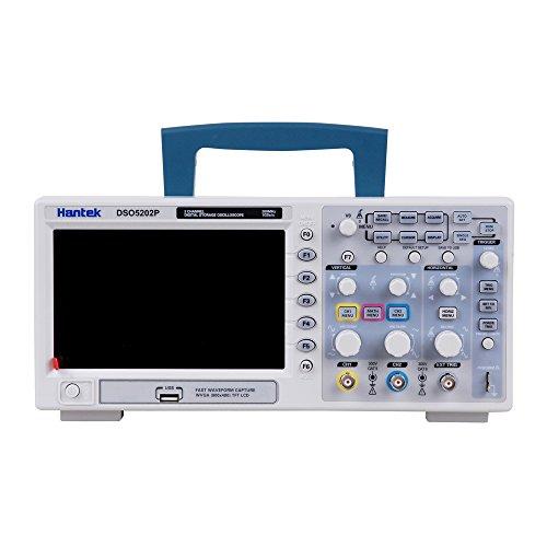 Hantek DSO5202P 200MHz 2 CH 1GSa/s 7'' TFT LCD Digital Storage Oscilloscope by Hantek