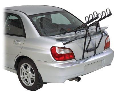 Com Outback 3 Bike Trunk Mount Rack Automotive Racks Sports Outdoors