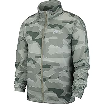 Nike Men's Sportswear Ce Jd Wndbrkr Camo Jacket, White, 2X-Large-NKAV8417-334