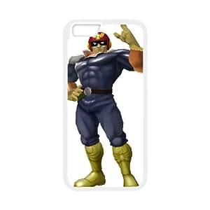 iPhone 6 Plus 5.5 Inch Cell Phone Case White Super Smash Bros Captain Falcon 006 Irxbr
