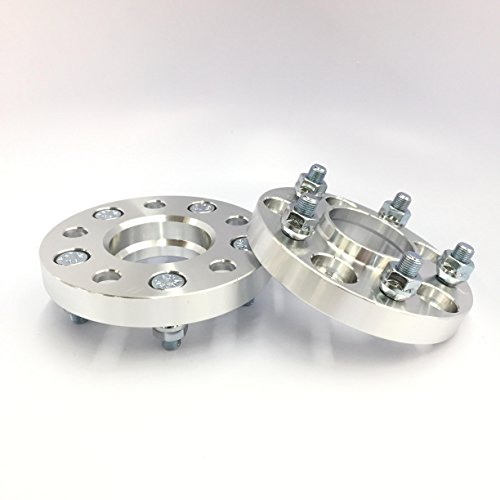 Customadeonly 2X HUBCENTRIC Wheel SPACERS ADAPTERS 5X114.3 ¦ 12X1.25 ¦ 56.1 CB ¦ 25MM 1