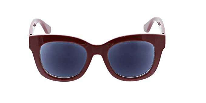 39c43f49a1 Amazon.com  Peepers Women s Center Stage Reading Sun-Berry +1.00 Round  Sunglasses