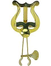 GEWA 730560 - Atril marcha trompeta pequeño, 1 soporte, en latón