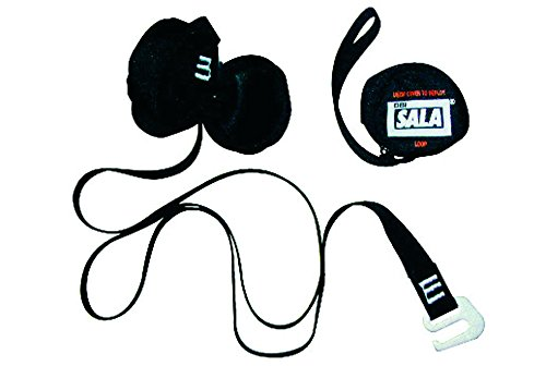 3M DBI-SALA 9501403 Fall Protection Full Body Harness Accessory, Suspension Trauma Safety Straps, Black