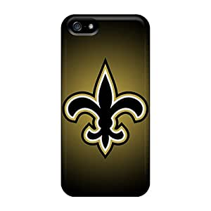 Durable Cases For The Iphone 5/5s- Eco-friendly Retail Packaging(new Orleans Saints)