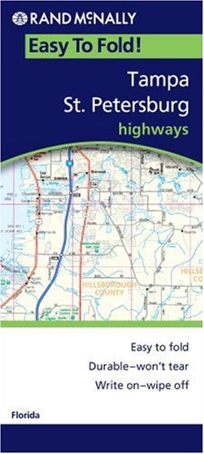 Rand Mcnally Tampa & St. Petersburg Regional, Florida (Rand McNally Easy to Fold!)