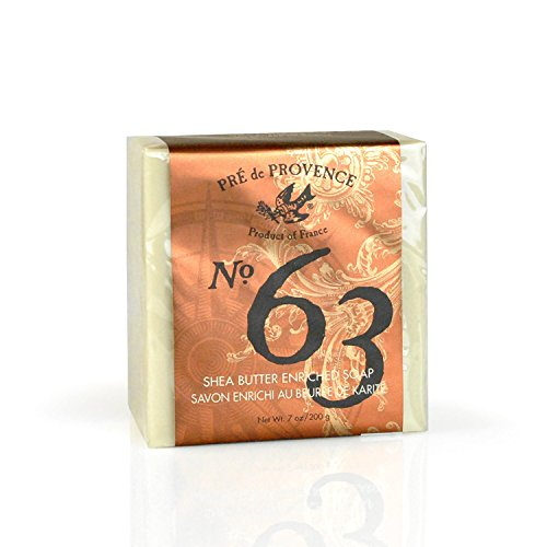 (Pre De Provence Aromatic, Warm and Spicy, No. 63 Mens 200 Gram Cube Soap 2 Pack)