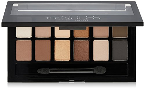 Maybelline New York The Nudes Eye Shadow Palette, 0.34 oz.