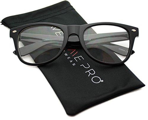 Clear Frame Glasses Nerd Clear Lens - Style Nerd