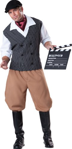 Hollywood Director Costume - InCharacter Costumes, LLC Dashing Director, Black/White/Tan, Large