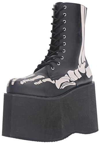 Funtasma Mens Mon10xray / Bpu Boot In Poliuretano Nero