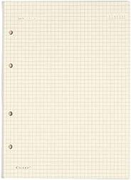 Refil Criativo Argolado, Branco, Quadriculado, 40 fls, Papel Pólen 80g/m², Tamanho Grande (17x24)
