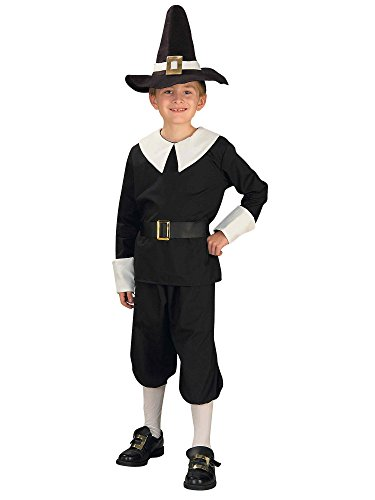 Child's Pilgrim Costume (Kids Pilgrim Costumes)